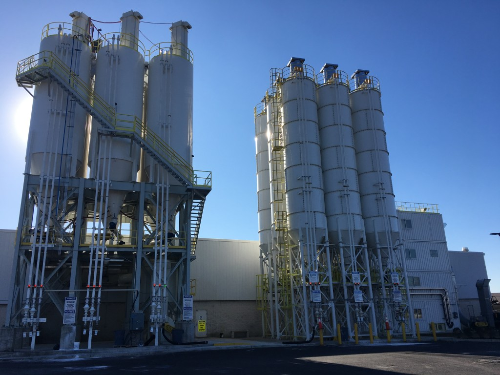 Mapei Corporation Powder and Liquid Chemical Plant Production Expansion